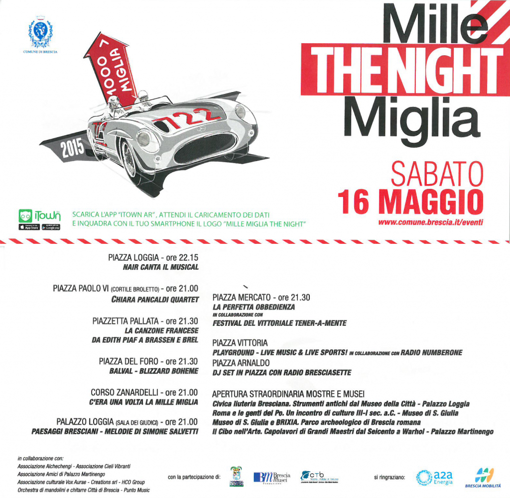 1000 Miglia night