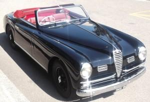 6C 2500 SS Cabriolet Pinin Farina