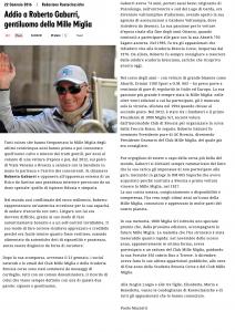 Morto Roberto Gaburri_Ruote Classiche