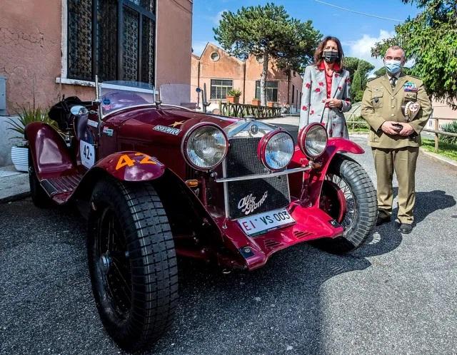 motori360-Giuseppina-Fusco-e-Gen.-Roberto-Nardone-Alfa-6C-1750-Gran-Sport-Zagato
