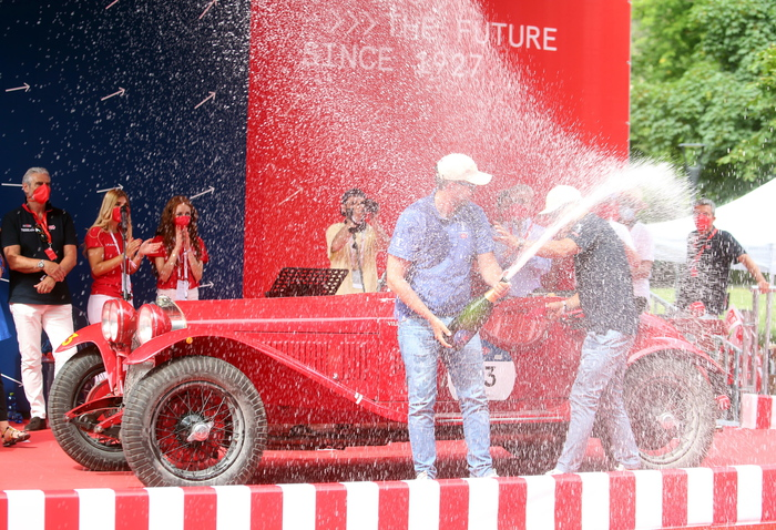 Mille Miglia vintage cars rally